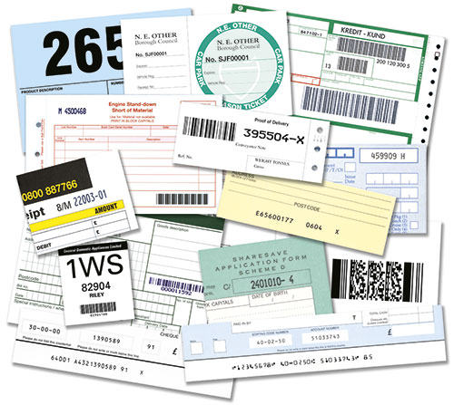 Numbering and Barcoding